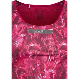 GORE RUNNING WEAR AIR PRINT Naiset Hihaton jouksupaita , vaaleanpunainen